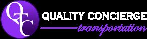 Quality Concierge Transportation Logo